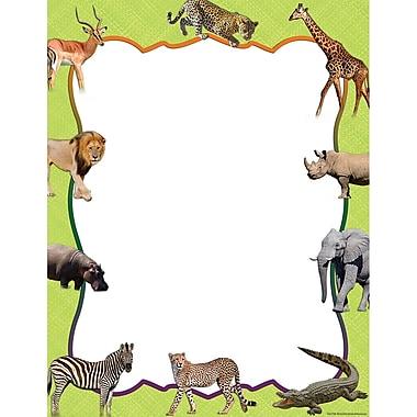Teacher Created Resources® Safari Animal Blank Chart, Science