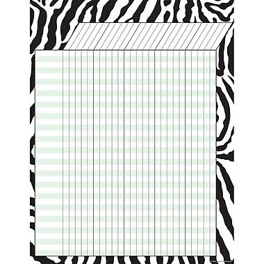 Teacher Created Resources Zebra Incentive Chart