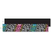 Top Notch Teacher Products Toddler - 12th Grade Double Sided Trimmer, Animal Chic