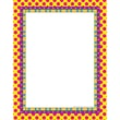 Top Notch Teacher Products Computer Paper, 8 1/2in. x 11in., Pink Dots On Stripes