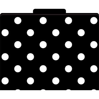 Barker Creek® File Folder, Black and White Dots