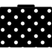 Barker Creek® File Folder, Black and White Dots