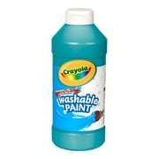 Crayola® Artista II® 16 oz. Tempera Washable Paint, Turquoise