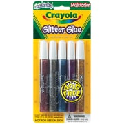 Crayola® 5 Piece Washable Glitter Glue, 0.35 oz., Multicolor
