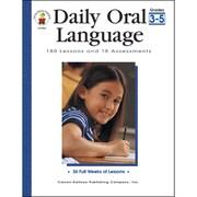 """Carson Dellosa® """"Daily Oral Language"""" Grade 3-5 Resource Book, Language Arts"""