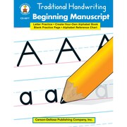 "Carson Dellosa® ""Traditional Handwriting: Beginning Manuscript"" Resource Book, Language Arts"