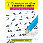 "Carson Dellosa® ""Modern Handwriting: Beginning Cursive"" Grade 1st-3rd Resource Book, Language Arts"