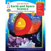 "Carson Dellosa® ""Just the Facts: Earth and Space Science"" Resource Book, Grades 4 - 6"