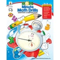 Carson Dellosa® More Minute Math Drills Addition and Subtraction Resource Book, Grades 1 - 3