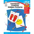 Carson Dellosa® Coordinate Graphing Hidden Pictures Resource Book, Grades 3 - 5