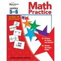 Carson Dellosa® Math Practice Workbook, Grades 5 - 6