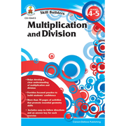 Carson Dellosa® Skill Builders: Multiplication and Division Workbook, Grades 4 - 8