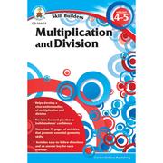 Carson Dellosa® Skill Builders: Multiplication and Division Workbook, Grades 4 - 8