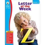 Carson Dellosa® Letter of the Week Resource Book, Grades PreK - K