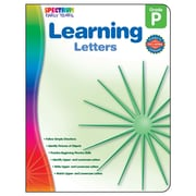 Carson Dellosa® Spectrum Early Years Learning Letters Workbook, Grades PreK