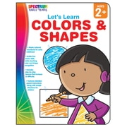Carson Dellosa® Spectrum Early Years Let's Learn Colors & Shapes Workbook, Grades PreK