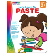 Carson Dellosa® Let's Learn to Paste Workbook, Grades Up To P
