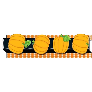 Carson Dellosa® Pop-Its™ Border, Pumpkins