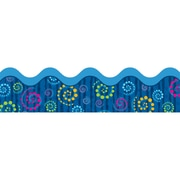 Carson Dellosa® Scalloped Border, 36(L) x 2 1/4(W), Dots 'n Swirls