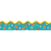 Carson Dellosa® Scalloped Border, 36(L) x 2 1/4(W), Sassy Sprockets