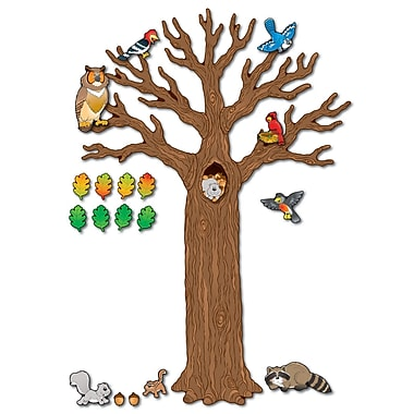 Carson Dellosa® Bulletin Board Set, Big Tree With Animals