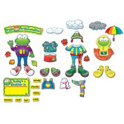 Carson Dellosa® Bulletin Board Set, Weather Frog