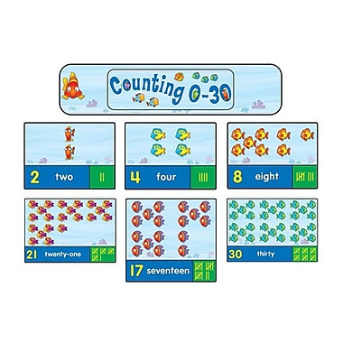Carson Dellosa® Bulletin Board Set, Counting 0-30