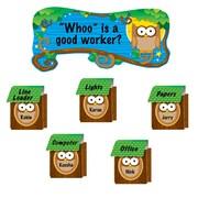 Carson Dellosa® Bulletin Board Set, Owl Job Assignment Pop-Its™