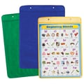 Carson Dellosa® Pocket Chart Storage, Yellow/Blue/Green