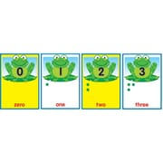 "Carson-Dellosa Publishing 119005 6"" x 8.5"" Straight Frogs and Bugs Numbers 0-30 Bulletin Board Set, Multicolor"