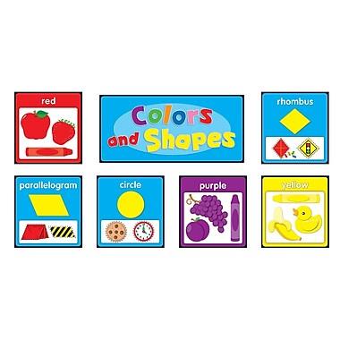 Carson Dellosa® Quick Stick® Bulletin Board Set, Colors and Shapes