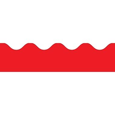 Carson Dellosa® Preschool - 8th Grade Scalloped Border, Red