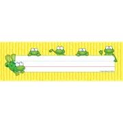 """Carson Dellosa® Nameplates, 9 1/2"""" x 2 7/8"""", Frogs"""