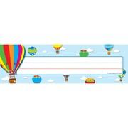 "Carson Dellosa® Nameplates, 9 1/2"" x 2 7/8"", Hot Air Balloons"