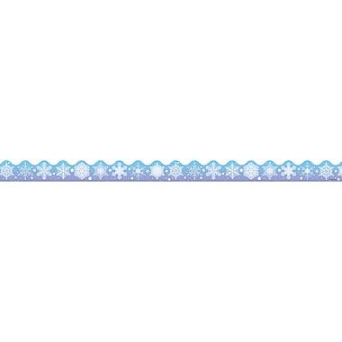 Carson Dellosa® Scalloped Border, Snowflakes