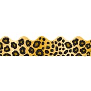 Carson Dellosa® Preschool - 8th Grade Scalloped Border, Leopard Print