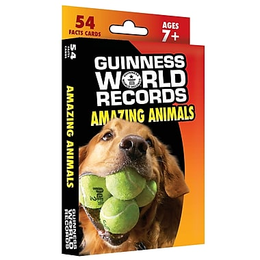 Carson Dellosa® in.Guinness World Records® Amazing Animalsin. Learning Cards, Grades 2 - 5