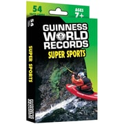 Carson Dellosa® Guinness World Records® Super Sports Learning Cards, Grades 2 - 5