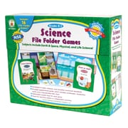Carson Dellosa® Science File Folder Games, Grades Kindergarten - 1
