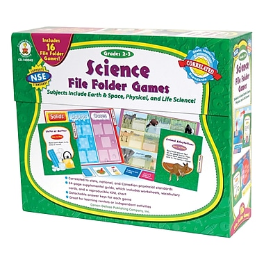 Carson Dellosa® Science File Folder Games, Grades 2 - 3