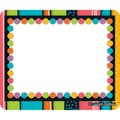 Carson Dellosa® Name Tags, 3in. x 2 1/2in., Stylin' Stripes
