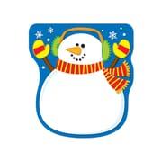 "Carson Dellosa® 50 Sheets Notepad, 5 3/4"" x 6 1/4"", Snowman"