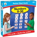 Carson Dellosa® Numbers 0-30 Pocket Chart Cards, 174 Piece