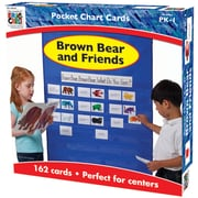 Carson Dellosa® Brown Bear and Friends Pocket Chart Cards, 162 Piece