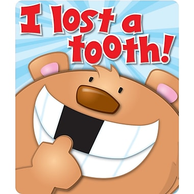 Carson Dellosa® I Lost a Tooth Motivational Sticker