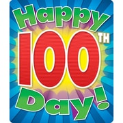 Carson Dellosa® Happy 100th Day Motivational Sticker