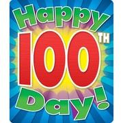 Carson-Dellosa Publishing 168057 Happy 100th Day Motivational Sticker