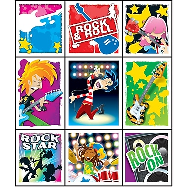 Carson Dellosa® Prize Pack Stickers, Rock Stars