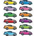 Carson Dellosa® Race Cars Shape Sticker