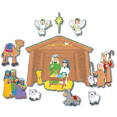 Carson Dellosa® 14 Piece Bulletin Board Set, Nativity
